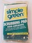Simple Green Scrubbing Pad, Reinigungsschwamm